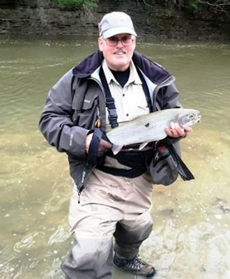 Les Ober, Ohio Central Basin Steelheaders